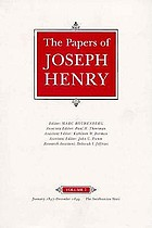 The papers of Joseph Henry