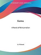 Karma : a novel