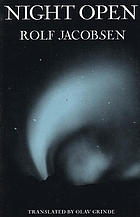 Night open : selected poems of Rolf Jacobsen