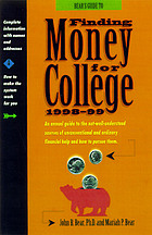 Bear's guide to finding money for college
