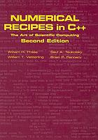 Numerical recipes in C++ : the art of scientific computing