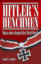 Hitler's Third Reich : a documentary history