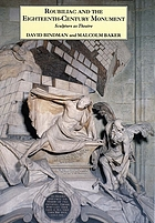 Roubiliac and the eighteenth-century monument : sculpture as theatre