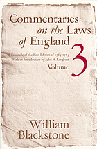 Stephen's Commentaries on the laws of England