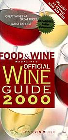 Food & wine magazine's official wine guide 2000