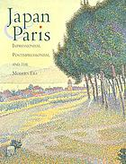 Japan & Paris : Impressionism, Postimpressionism, and the modern era
