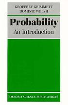 Probability : an introduction
