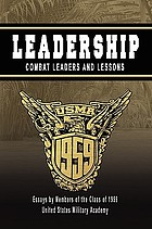 Leadership : combat leaders and lessons