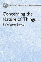 Concerning the nature of things; six lectures delivered at the Royal Institution