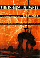 The Inferno of Dante : a new verse transl. by Robert Pinsky
