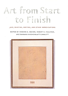 Art from start to finish : jazz, painting, writing, and other improvisations
