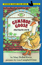 Gumshoe Goose, private eye