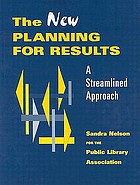 The new planning for results : a streamlined approach