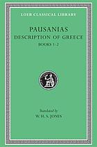 Pausanias Description of GreeceDescription of Greece