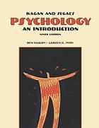 Kagan & Segal's psychology : an introduction