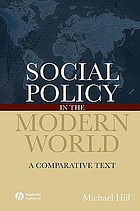 Social policy in the modern world : a comparative text