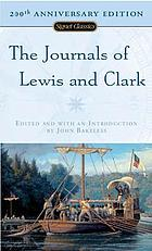 The journals of Lewis and Clark. A new selection with an introd