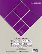 Proceedings : 30th Annual Simulation Symposium, April 7-9, 1997, Atlanta, Georgia