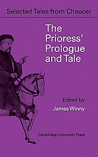 The Prioress' prologue & tale : from the Canterbury tales