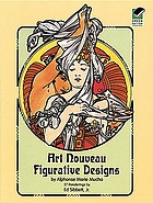 Art nouveau figurative designs