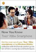 Now you know Treo 700w smartphone