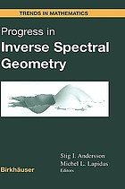 Progress in inverse spectral geometry
