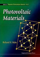 Photovoltaic materials