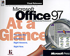 Microsoft Office 97 at a glance