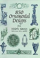 850 Ornamental designs from historic sources