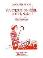 Cantique de Noël : Christmas song