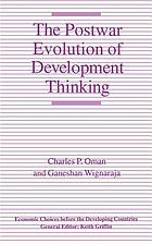 The postwar evolution of development thinking