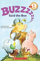 """Buzz,"" said the bee"