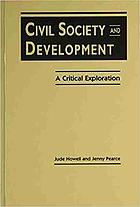 Civil society & development : a critical exploration