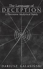 The language of deception : a discourse analytical study