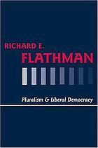 Pluralism and liberal democracy