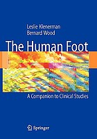 The human foot : a companion to clinical studies