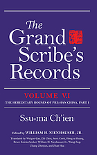 The grand scribe's records