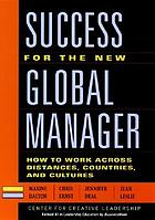 Success for the Global Manager New Testament