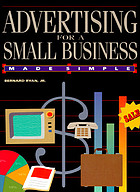 Advertising for a small business made simple
