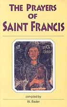 The prayers of Saint Francis