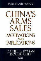 China's arms sales : motivations and implications