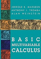 Basic multivariable calculus