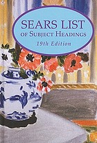 Sears list of subject headings