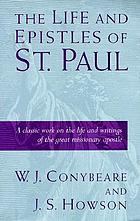 The life and epistles of St. Paul