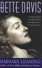 Bette Davis : a biography