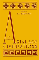 The Origins and diversity of axial age civilizations