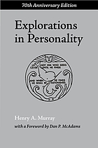 Explorations in personality; a clinical and experimental study of fifty men of college age