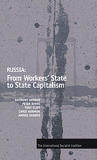 Russia : from workers' state to state capitalism