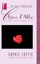 Claire d'Albe : an English translation