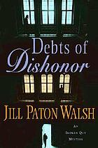 Debts of dishonor : an Imogen Quy mystery